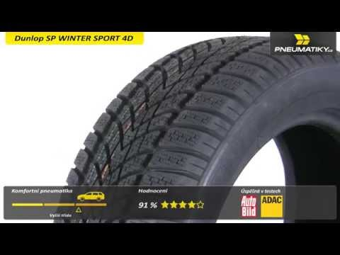 Youtube Dunlop SP WINTER SPORT 4D 195/65 R16 92 H * Zimní