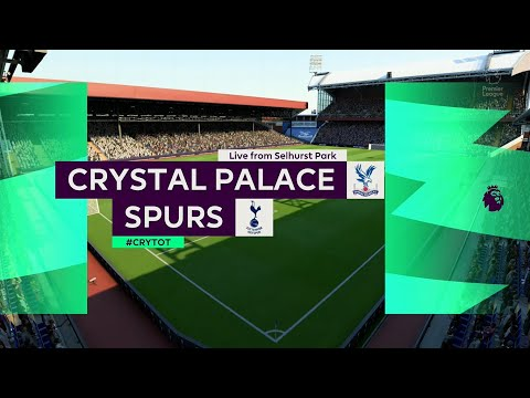 ⚽ Crystal Palace vs Tottenham Hotspur ⚽   Premier League (26/07/2020)   Fifa 20