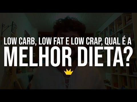 Low carb diet - #1 Live Low Carb, Low Fat e Low Crap, qual é melhor dieta? (Ao vivo) Autoridade Fitness