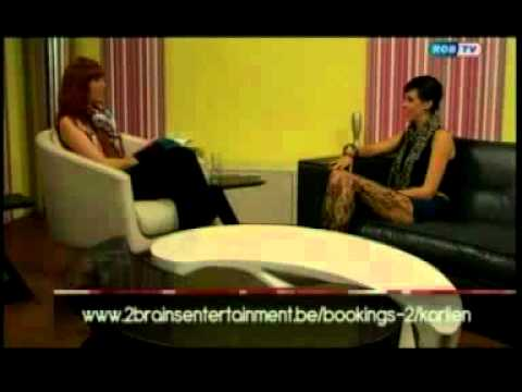 Karlien Aelvoet Interview Live @ ROB-TV 2011 Belgium