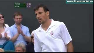 Tennis Highlights, Video - David Ferrer vs. Ivan Dodig *LAST GAME* WIMBLEDON 2013