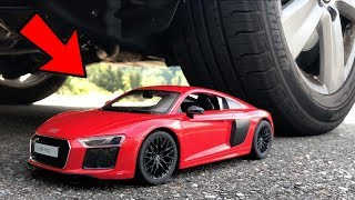 Video EXPERIMENT: CAR vs Audi R8 (Toy) MP3, 3GP, MP4, WEBM, AVI, FLV Agustus 2018