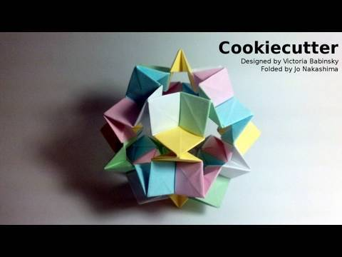 Kusudama Tutorial - 031 -- Cookiecutter