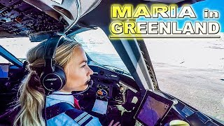 Maria now Pilots Dash 8 in Greenland
