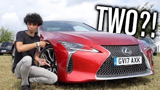 Lexus GAVE Us TWO LC500s?!