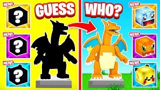 POKEMON Guess WHO For LOOT (Minecraft)