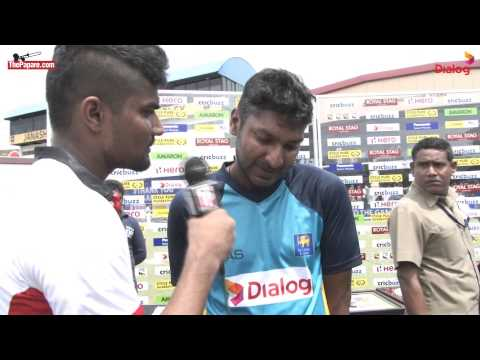 Fight during cricket match - Shehzad vs Dilshan [HD]