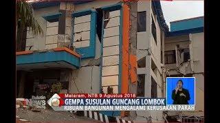 Video Mengerikan!! Beginilah Kondisi Bangunan di Lombok Pasca Diguncang Gempa - BIS 10/08 MP3, 3GP, MP4, WEBM, AVI, FLV Desember 2018