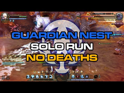 Lv70 Moonlord ; Guardian Nest Solo No Deaths feat. AikawaKazu - Dragon Nest SEA