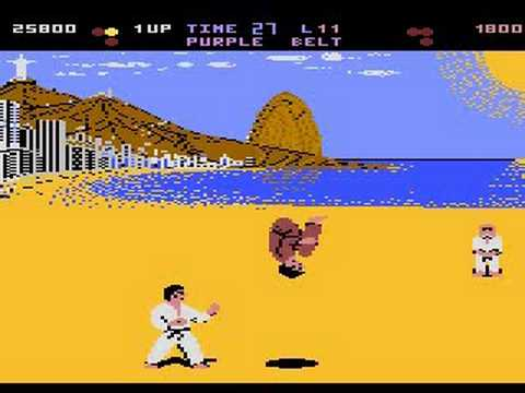 international karate atari online