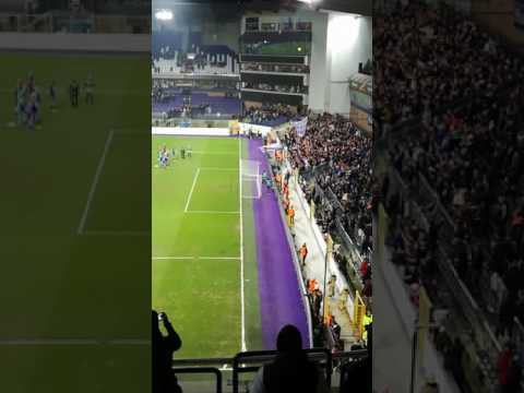CLAPPING PALYERS/FANS AFTER ANDERLECHT-zenit