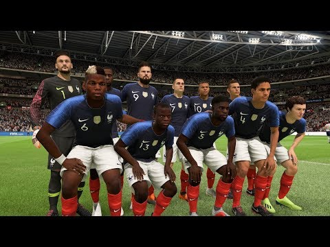 FIFA 19 | England Vs France - Wembley Stadium - (Full Gameplay Xbox One X)