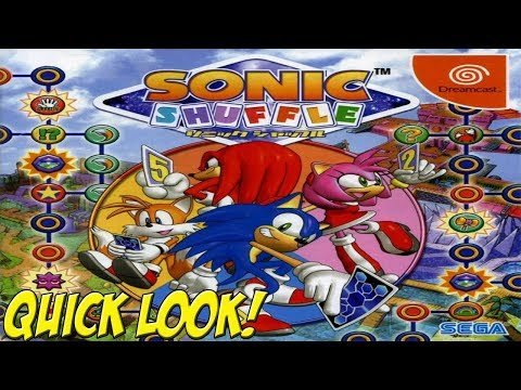 Sonic Shuffle Sega Dreamcast Neuf sous blister Import Jap