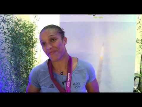 Interview de Lucie Décosse, championne olympique de Judo