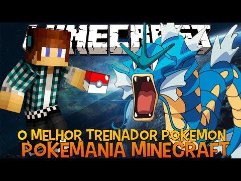 O Melhor Treinador Pokémon !! Jogando com Inscritos Minecraft