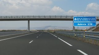 Lleida Spain  City new picture : Spain: A-14 Alguaire - Almenar (Lleida province)