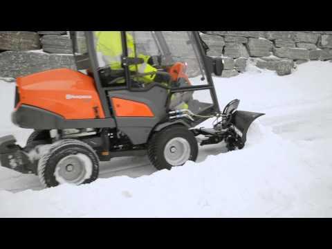 Садовый райдер дизельный HUSQVARNA P 525D - видео №6