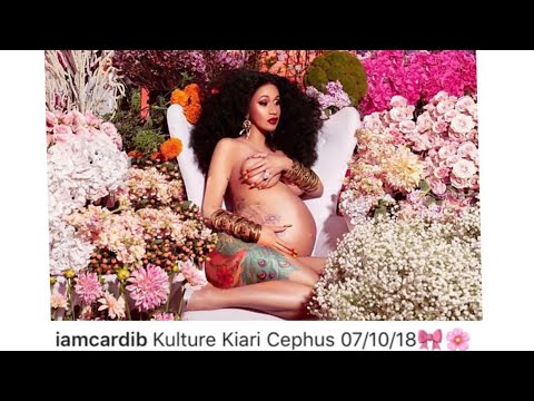 CARDI B AND OFFSET WELCOMES THEIR BABY GIRL