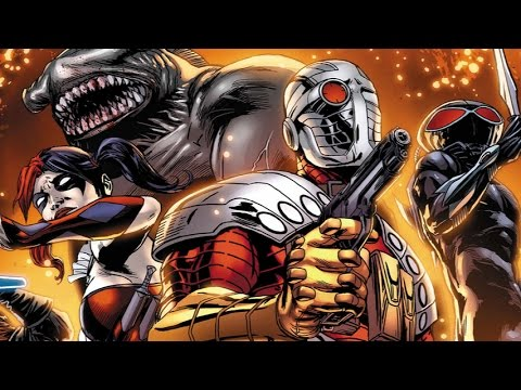 Superhero Origins: The Suicide Squad