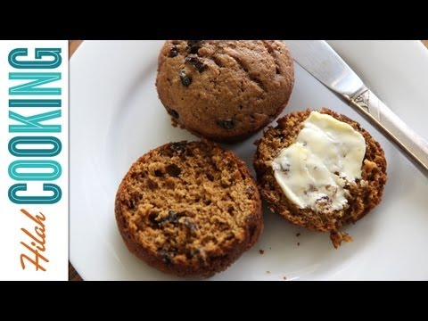 How to Make Gingerbread Muffins | Hilah Cooking