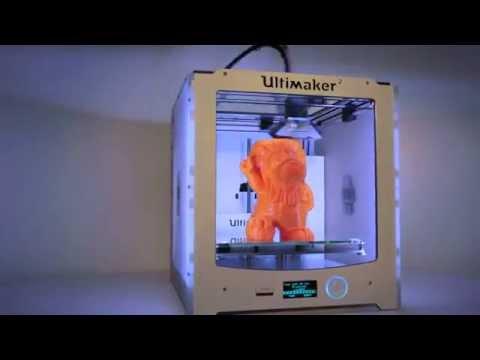 3D Printed Dutch Lion in PLA Orange