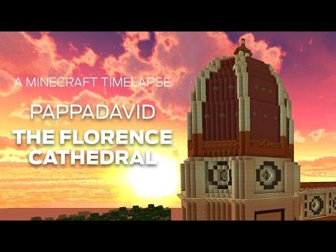 Minecraft Timelapse Build: Florence Cathedral