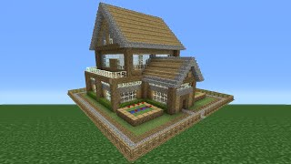 Minecraft Tutorial: How To Make A Small Survival House - 4