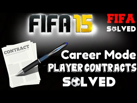 FIFA 15 Career Mode Player Contracts Solved