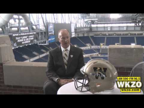 Bill Cubit at 2012 MAC Media Day