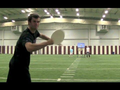 花式飛盤 vs 花式投籃,怎麼投怎麼進!