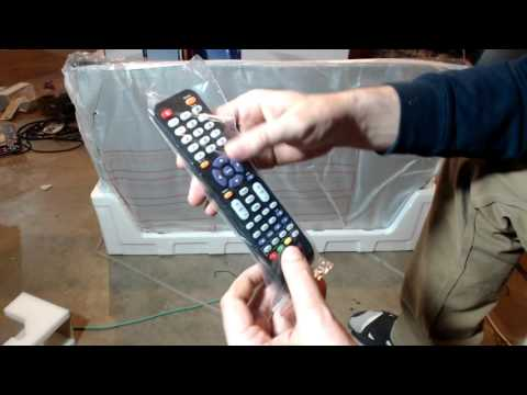 Unboxing Sceptre U435CV-UMC 43