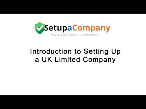 Introduction to Forming a UK Limited Company