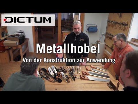 Metallhobel: von Konstruktion bis Anwendung - mit Lie-Nielsen Toolworks - DICTUM Kursimpressionen