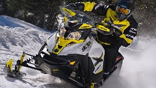 8. TEST RIDE: 2016 Ski-Doo MXZ X 800R