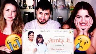 Video AUNTY JI | Shabana Azmi | Short Film Reaction | (We all cried!) MP3, 3GP, MP4, WEBM, AVI, FLV September 2018