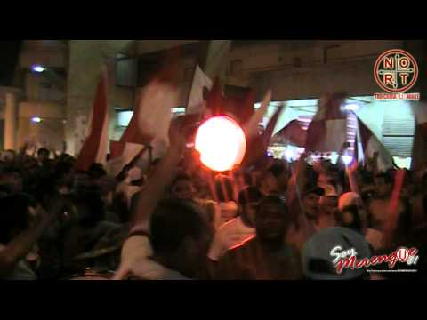 Video - UNIVERSITARIO 0 vs Velez 1 - Copa Libertadores 2014 - TRINCHERA (U) NORTE previa 1 - Trinchera Norte - Universitario de Deportes - Peru