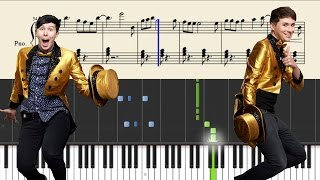 How to play THE INTERNET IS HERE by DANISNOTONFIRE and AMAZINGPHIL on piano. • Try this simple and fun tool for ...