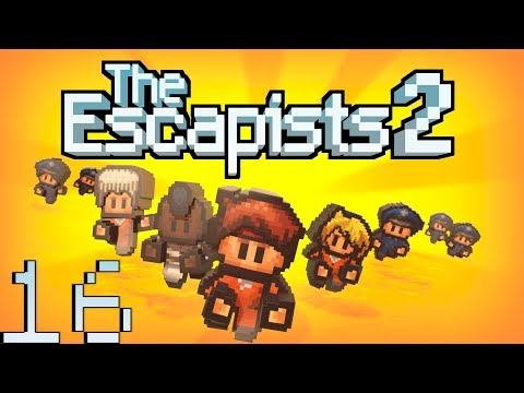 The Escapists 2 [Fort Tundra] Часть 16. Надо подкачаться
