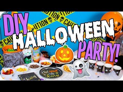 come organizzare un bellissimo halloween party!