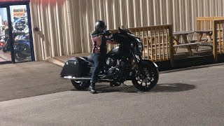 8. My friend buys a 2018 Indian Chieftain Dark Horse!