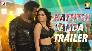 Kaththi Sandai Official Tamil Trailer