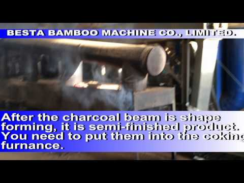 Bamboo Charcoal Machine Video, Bamboo Briquette Making Machine (Best Supplier)