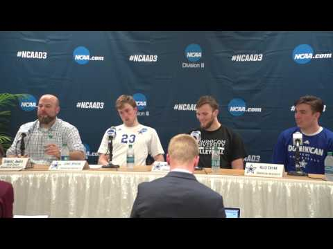 NCAA Championship Volleyball Quarterfinals: Dominican Press Conference