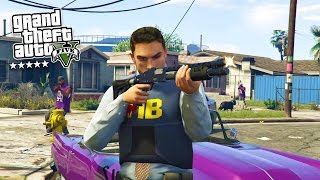 GTA 5 PC mods gameplay max settings 1080p free roam livestream includes first person mode Police mod gameplay for Grand Theft Auto 5 PC in HD. This GTA 5 gam...