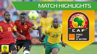 South Africa - Angola | CAN Orange 2013 | 23/01/2013