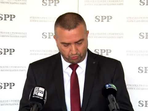Pogledajte konferenciju za medije Odborničkog kluba SPP Novi Pazar