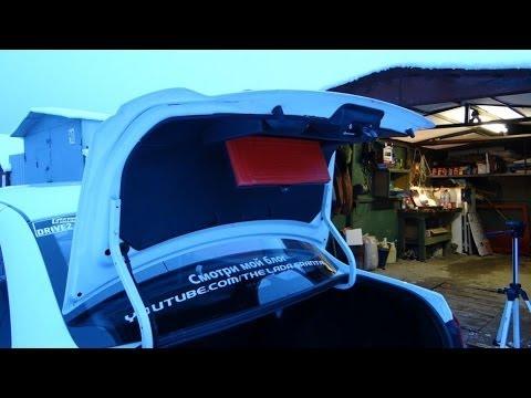 Обшивка багажника лада гранта аламар снимок