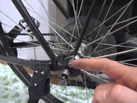 Gepäckträger am Fahrrad montieren
