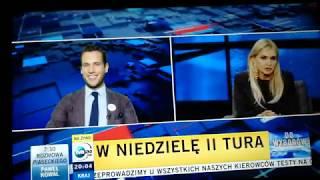 """Olejnik pyta o """"debatę"""", Bosak odpowiada a Kanthak zmienia temat na Warszawę"""