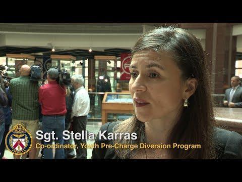 @TorontoPolice Youth Pre-Charge Diversion Program   Sgt. Stella Karras